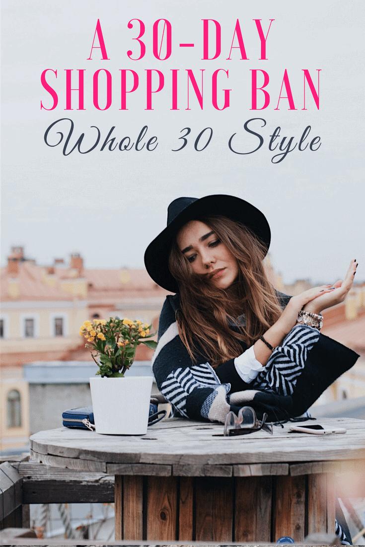 30 day shopping ban