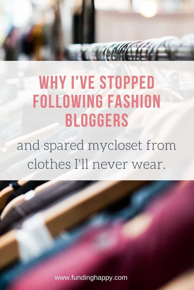 don't follow fashion bloggers