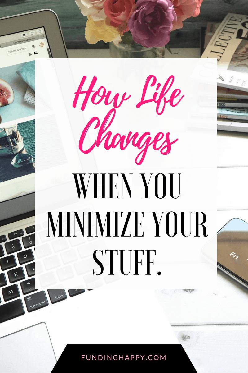 minimize your stuff