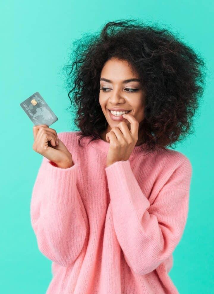woman following rachel cruze money advice