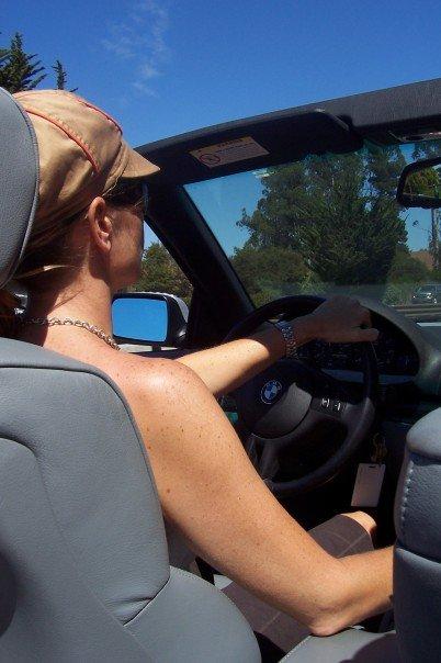 me driving a bmx