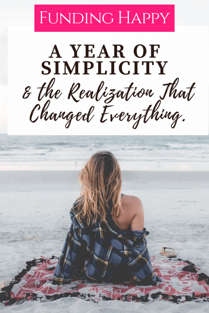 When I took the time to simplify and pair down, I had the space to work on myself.  What I realized from the work I did, changed my life.  #simplicity #simipleliving #intentionalliving #pairdown