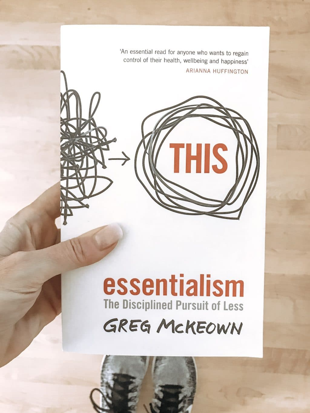 essentialism: the relentless pursuit of less. A book that changed my life.